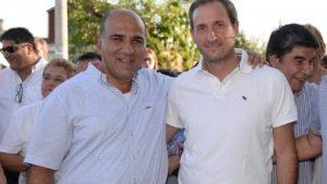 Franco Morelli junto a Juan Manzur